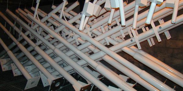 精致立杆_监控立杆厂家_4.5米立杆系列