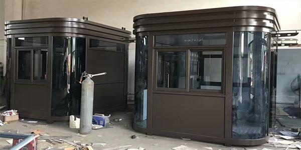 深圳岗亭厂家讲解不锈钢岗亭的造型和款式有什么