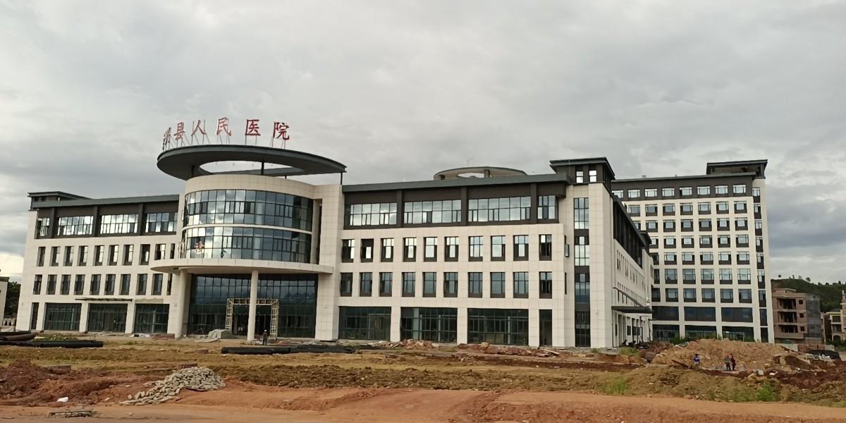 精致机柜承建韶关始兴县人民医院数据机房项目