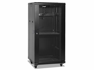 黑色27U网络机柜