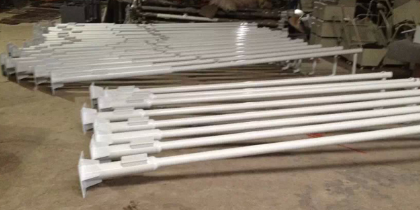 道路监控立杆厂家-3米单臂双枪变径立杆定制加工图纸