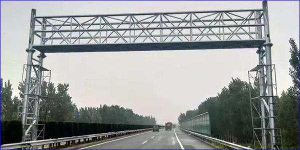 【深圳高速公路龙门架定制厂家】ETC龙门架设定的规范
