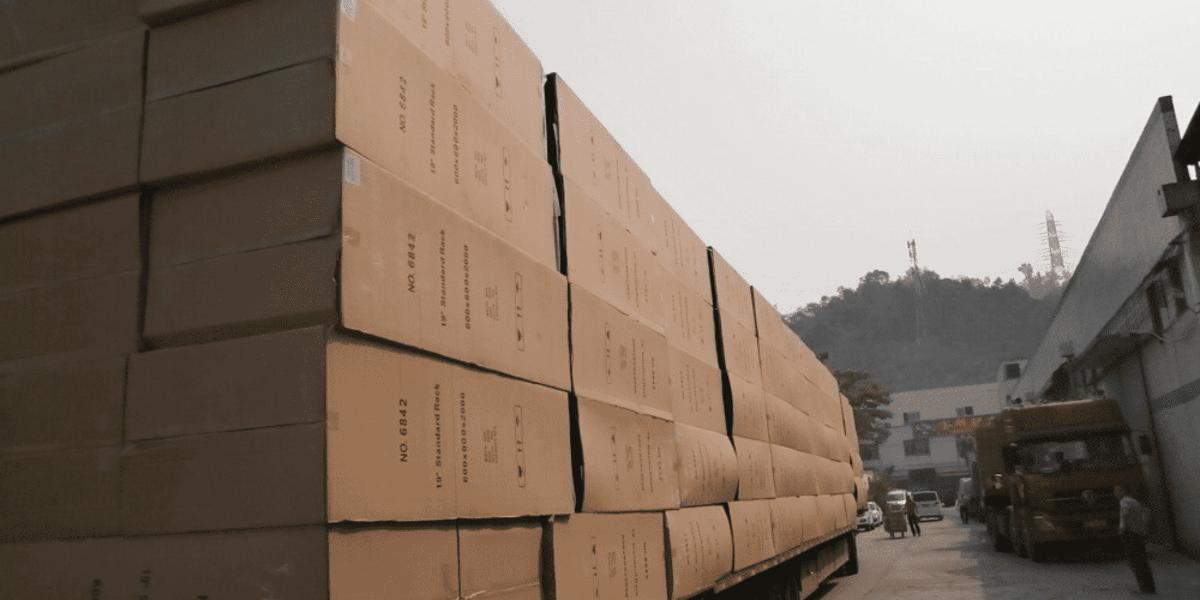 精致机柜为国税数据中心(南海)机柜项目供货中