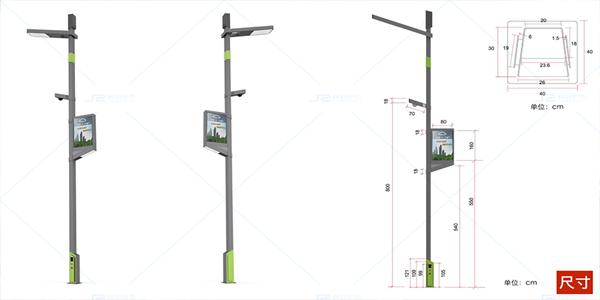城市智慧灯杆定制厂家介绍智慧路灯杆详尽使用教程