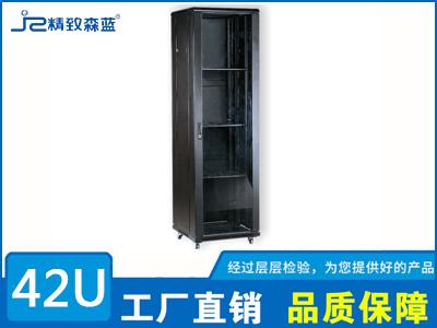 黑色42U网络机柜