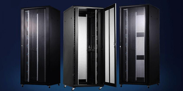 42U网络机柜_2米弱电监控网络服务器机柜参数尺寸